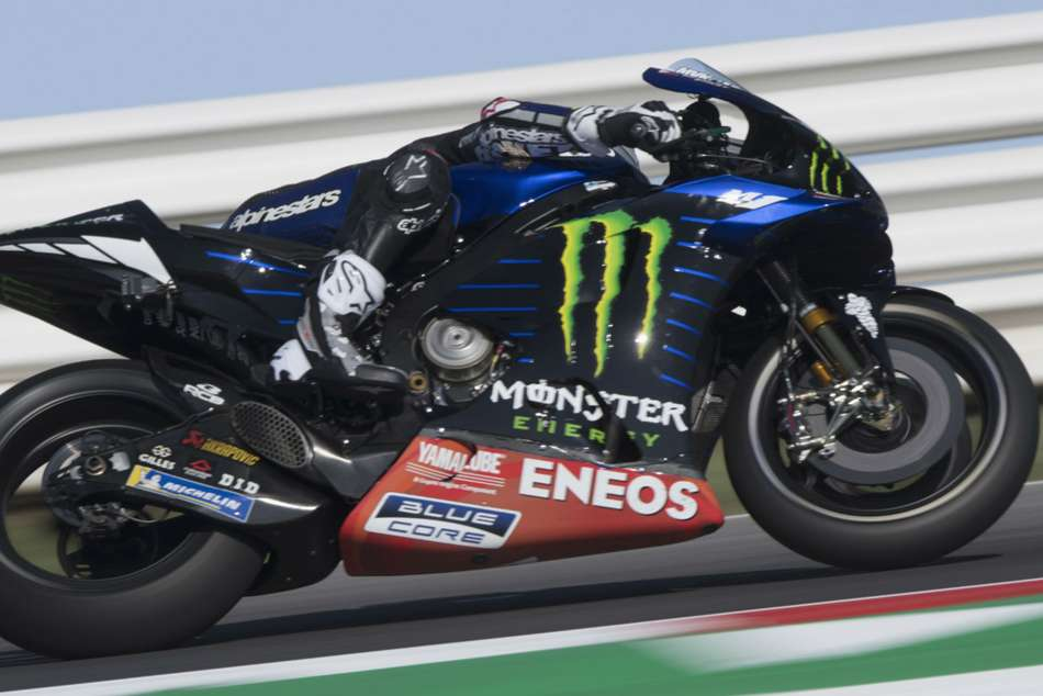 Motogp Raceweek Vinales Denies Espargaro Maiden Pole As Marquez And Rossi Clash