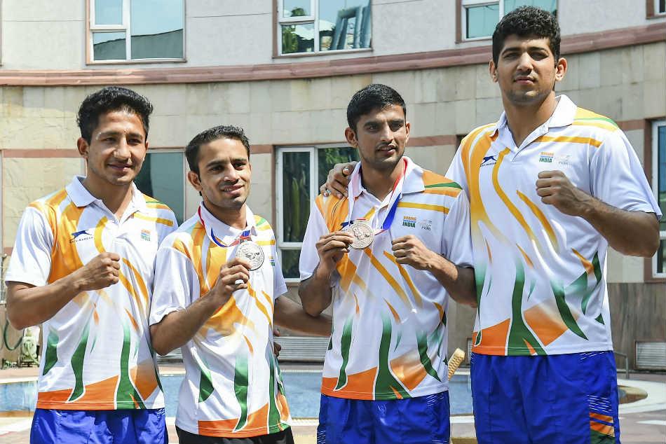 World championship medallists Amit Panghal, Manish Kaushik exempted from Senior Boxing Nationals