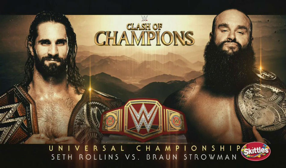 Clash of Champions main event poster (image courtesy WWE.com)