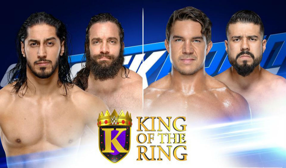 King of the Ring quarterfinal lineup from Smackdown (image courtesy WWE.com)