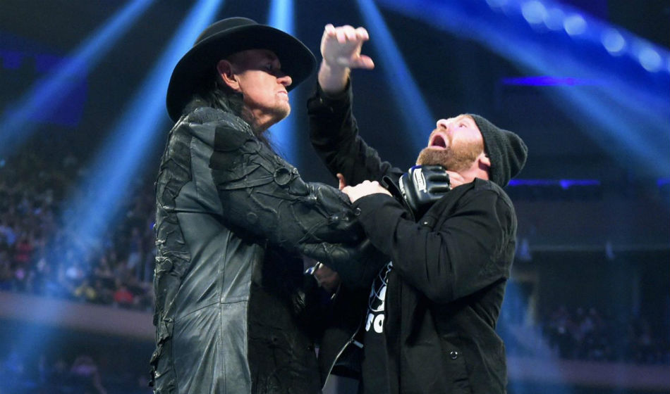 The Undertaker in action on Smackdown (image courtesy WWE.com)
