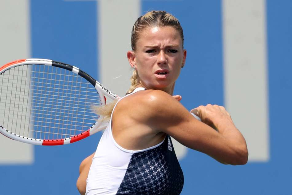 Camila Giorgi was eliminated from Kremlin Cup