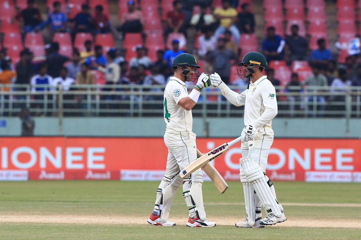 India Vs South Africa, 1st Test, Day 3: Ton-up Elgar, de Kock take SA to 385/8; Ashwin grabs a fifer - As it happened