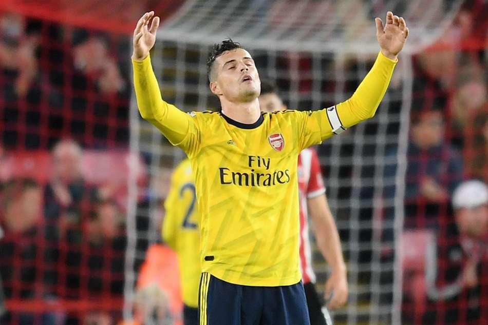 Arsenal critics 'speak a lot of bulls***', says Xhaka