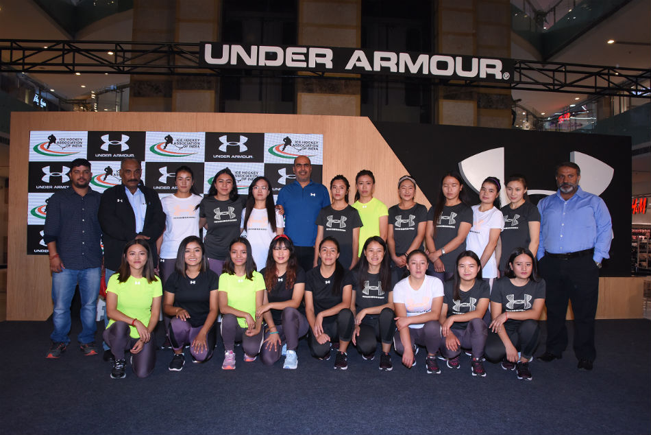 Under Armour celebrates heroic stories of Indian Womens Ice Hockey team