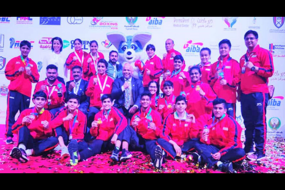 Indian boxers finish with 21 medals at the Asian Junior Championship
