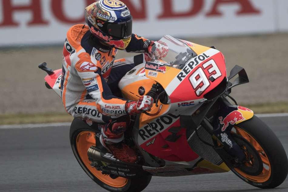 Marquez equals Doohan milestone with routine win at Motegi