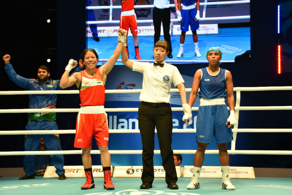 World Womens Boxing Championship: Manju Rani upsets top seed, Mary Kom creates history as boxers confirm 4 medals