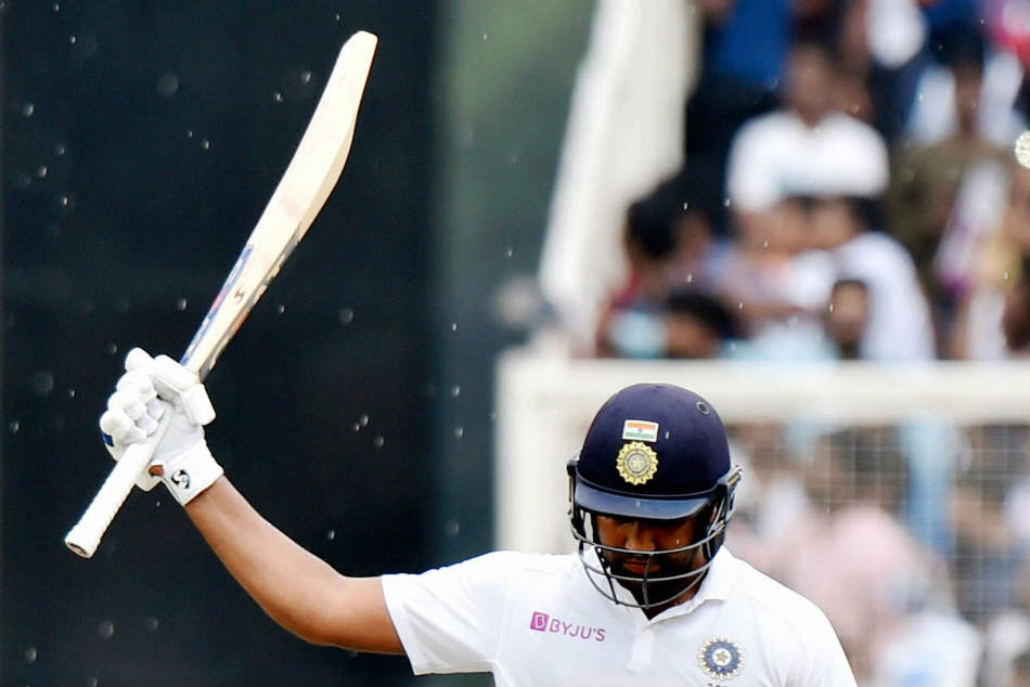 Rohit Sharma gets 200 with a six and India batting coach Vikram Rathour reveals secret of Hitmans success in Test cricket
