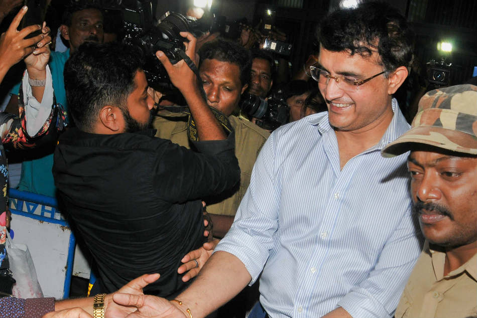 Sourav Ganguly throws light into future of Ravi Shastri, MS Dhoni