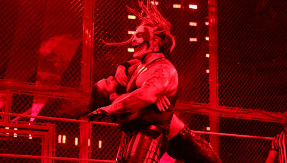The Fiend at Hell in a Cell (image courtesy WWE.com)