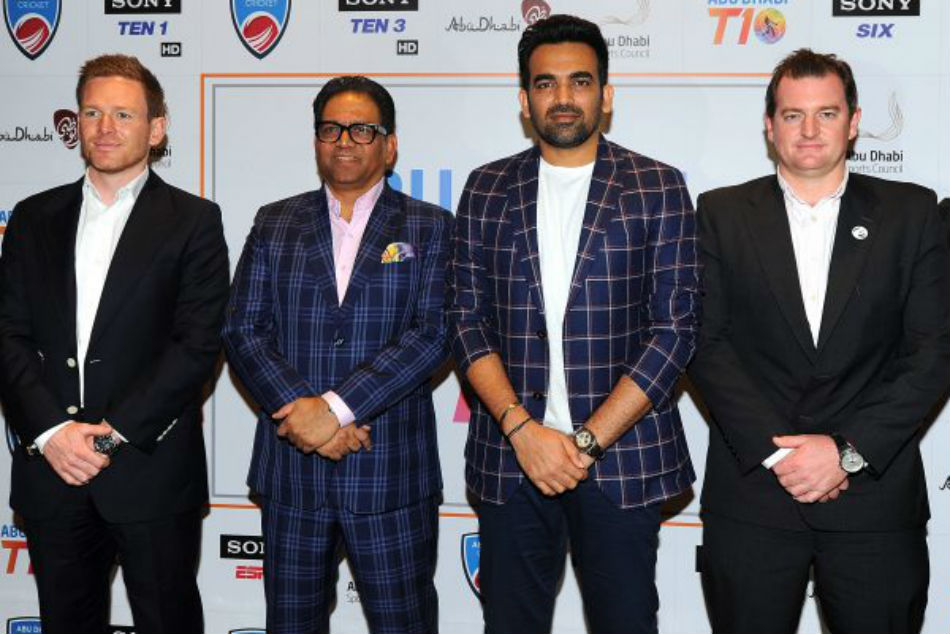 Abu Dhabi T10 League 2019: Eoin Morgan, Zaheer Khan join Sony Pictures Sports Network in the countdown