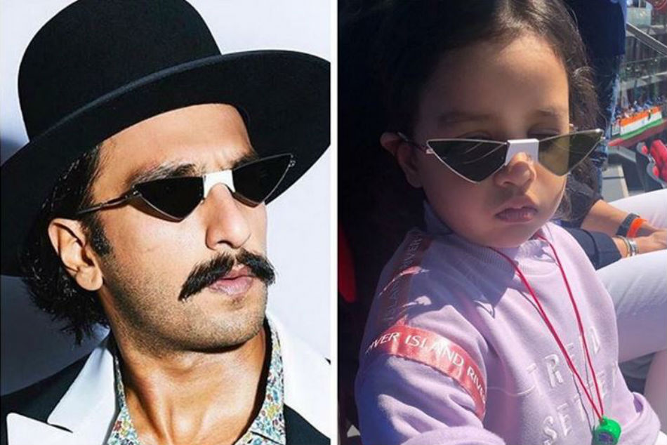 MS Dhoni shares funny image of daughter Ziva sporting same glasses as Ranveer Singh