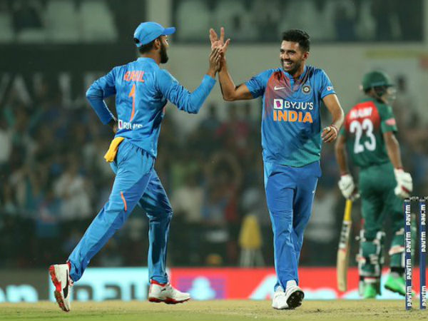 Deepak Chahar takes it to another level; bags yet another hat-trick