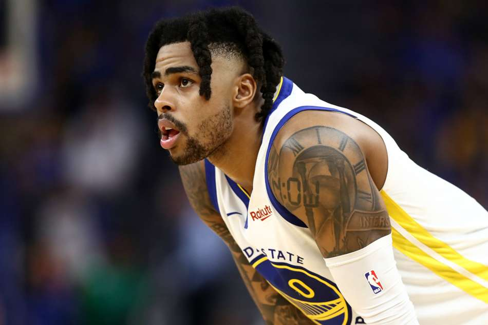 D'Angelo Russell suffers thumb sprain in another Warriors blow
