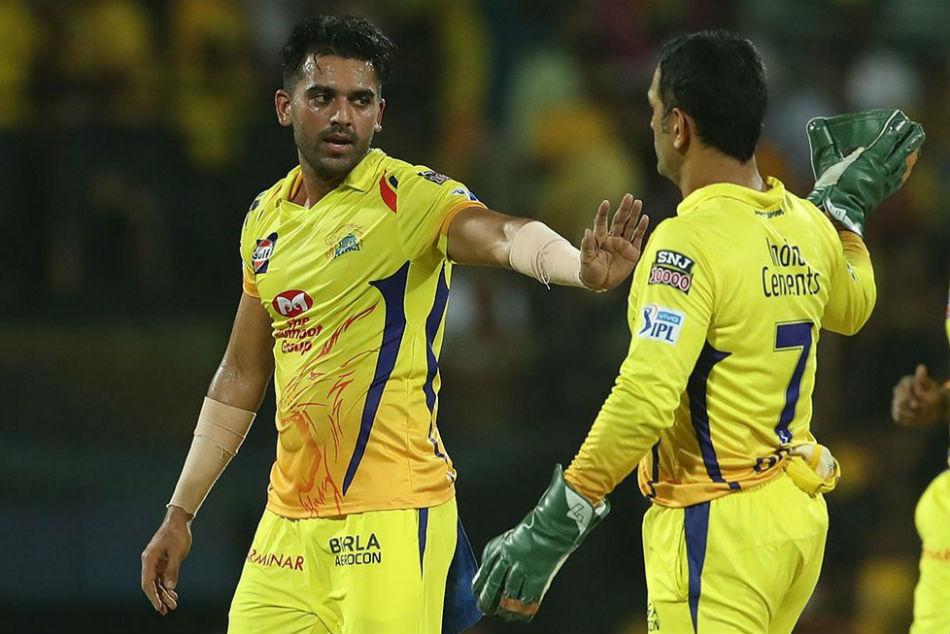 Deepak Chahar thanks his Chennai Super Kings' captain MS Dhoni for helping him as a bowler
