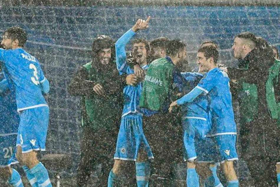 San Marino score first home goal in six years