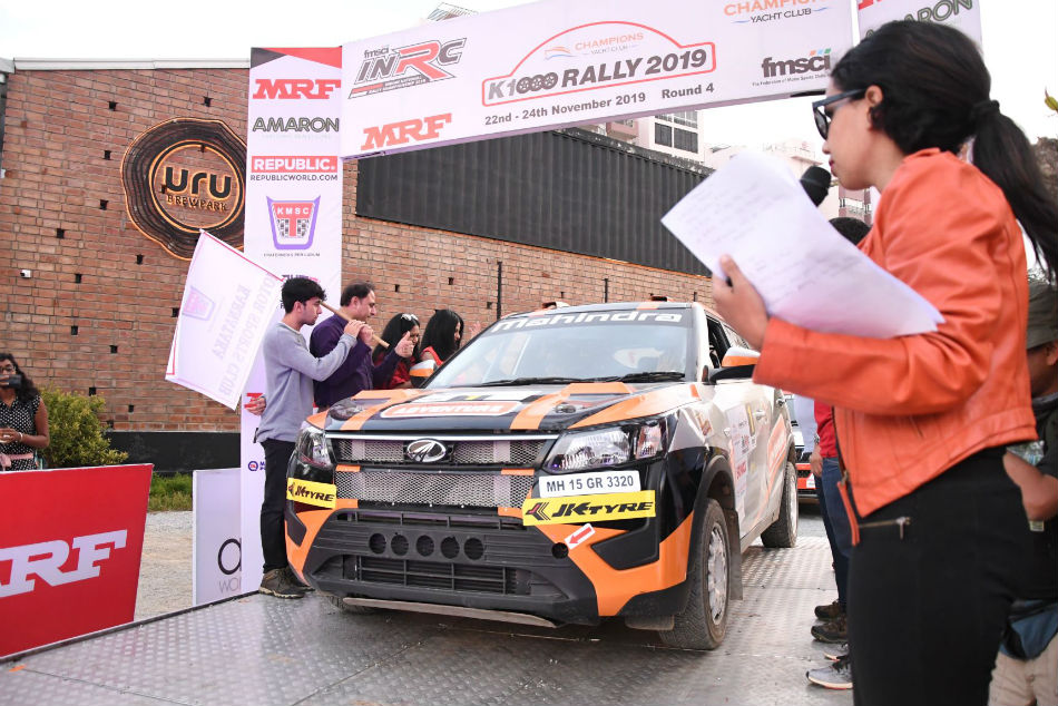 Indian National Rally Championship Fabid Dean Gaurav Showdown Adds Spice To Round 4