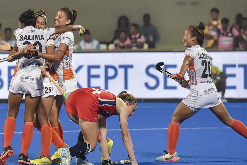 Olympic Qualifiers India Women Outclass Usa 5 1
