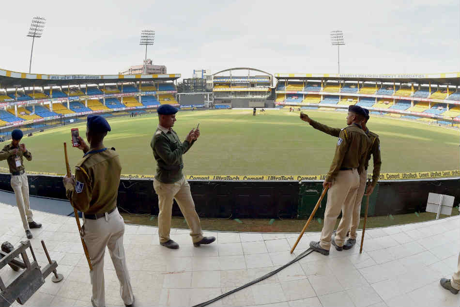 India Vs Bangladesh Sporting Pitch Awaits Teams At Indore First Test