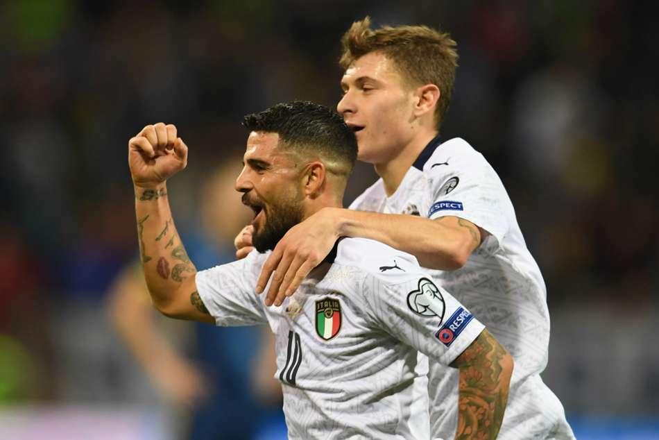 Bosnia-Herzegovina 0-3 Italy: Mancini's men coast to record-breaking 10th straight win