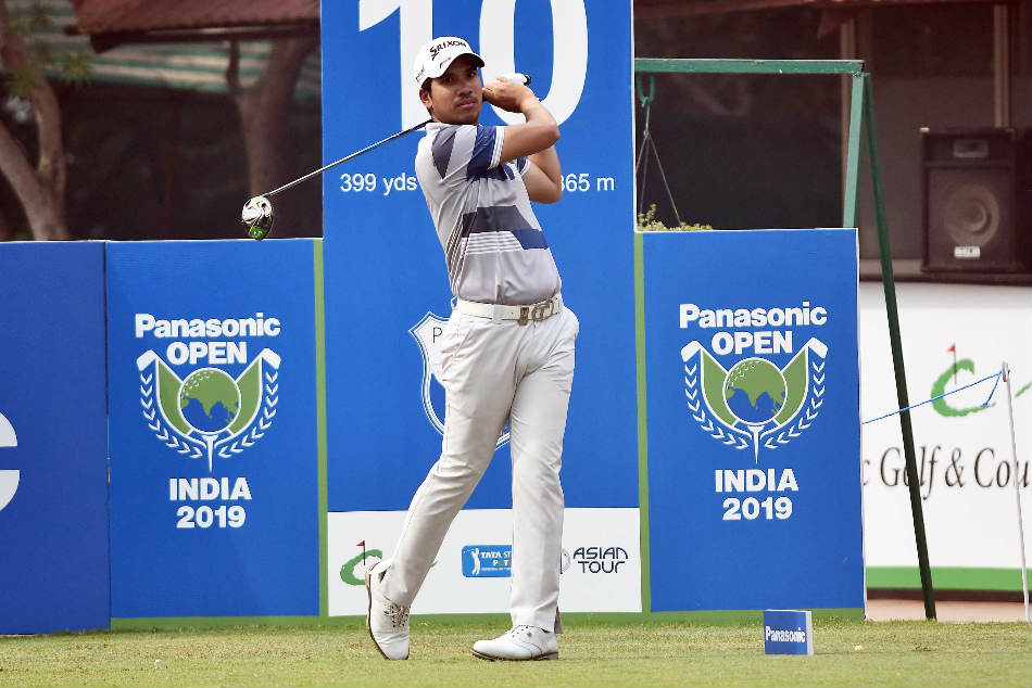 Curtailed day sees Thai Itthipat surge to the top at Panasonic Open India