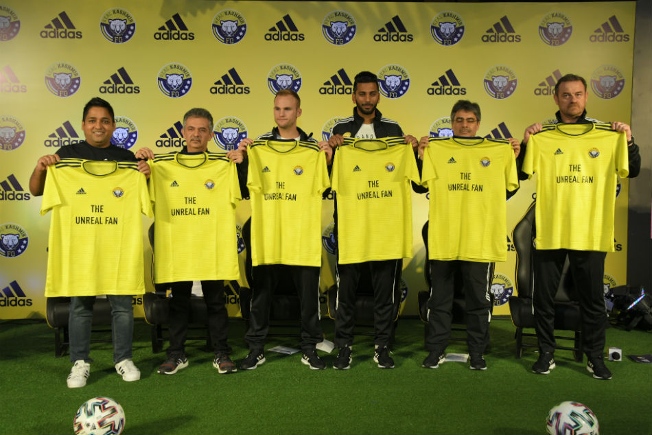 Real Kashmir FC, Adidas unveil new home jersey dedicated to the die-hard fans of I-League newbies