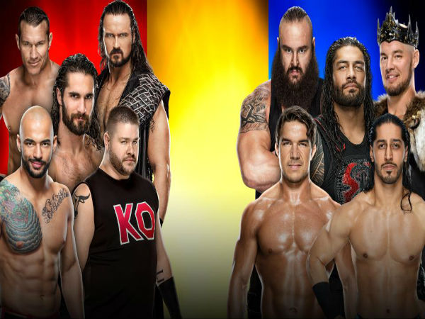Men's Traditional 5-on-5 Survivor Series Elimination Match: SD vs. NXT vs. RAW