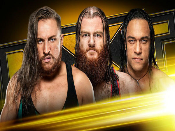 NXT Title Match: Damian Priest or Pete Dunne or Killian Dain vs. Adam Cole (c)