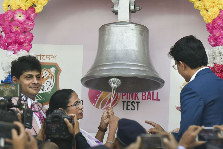 Pink fever grips Eden Gardens as India embrace Day/Night Tests
