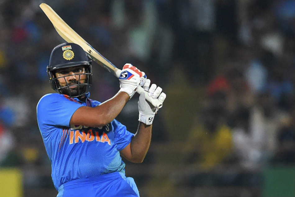 Rohit Sharma jubilant after Indias win