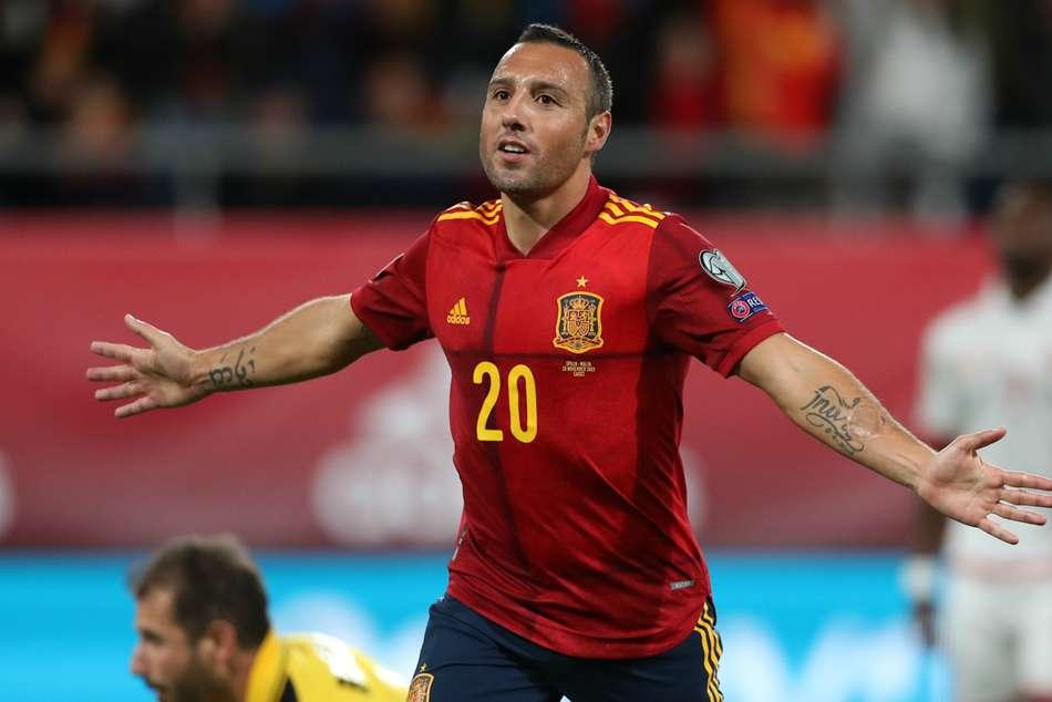 Spain 7-0 Malta: Cazorla strikes in Cadiz cruise