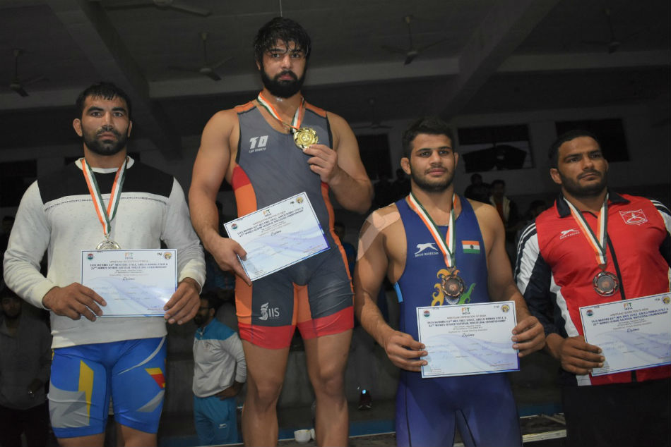 Defending Champions Railways Dominate Opening Day Of Tata Motors Senior Wrestling Nationals