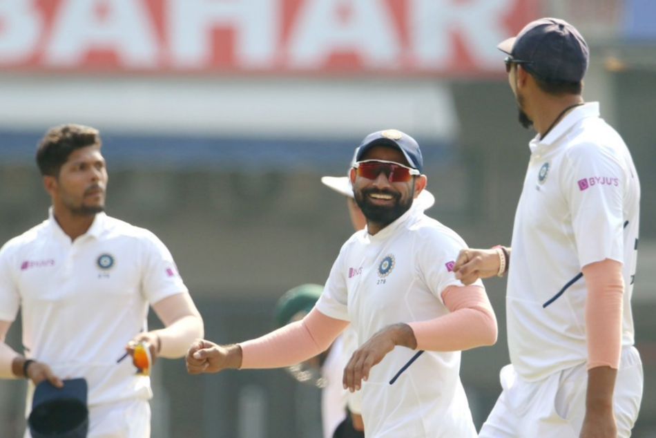 India Dismantle Bangaldesh First Test Mohammed Shami