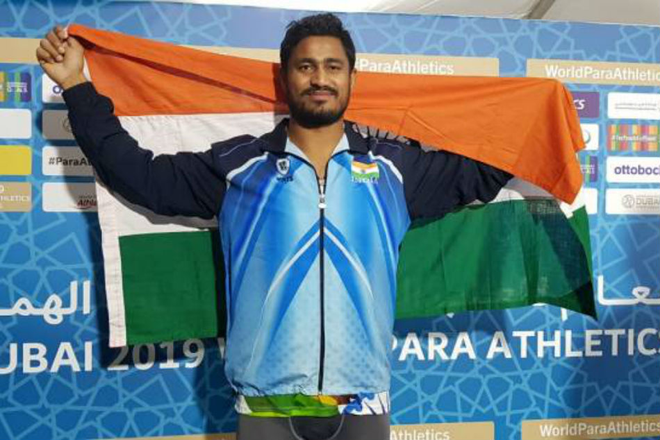 Sundar Singh Gurjar defends World title as India secure 3 Tokyo Paralympic Games quotas