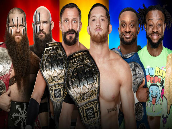 Non-Title Triple Threat: RAW Tag Team Champions The Viking Raiders vs. NXT Tag Team Champions The Undisputed Era vs. SmackDown Tag Team Champions The New Day