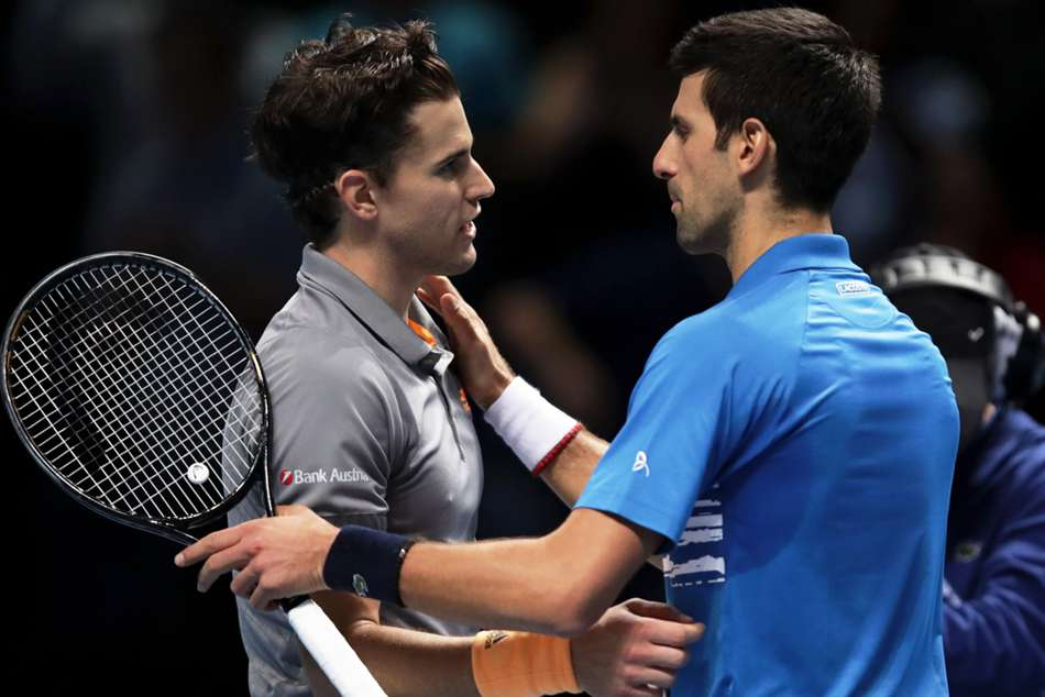 Djokovic hails 'unbelievable' Thiem display