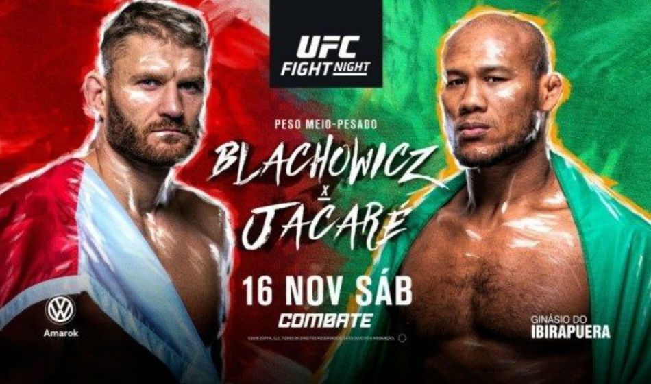 UFC Fight Night 164: Blachowicz vs. Jacare preview, fight card, India time and TV info