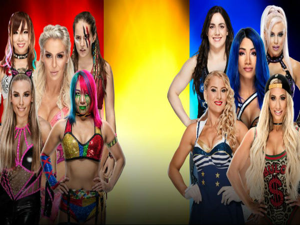 Women's Traditional 5-on-5 Survivor Series Elimination Match: SD vs. NXT vs. RAW