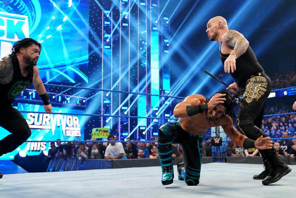 Wwe Friday Night Smackdown Results With Highlights November 22 2019