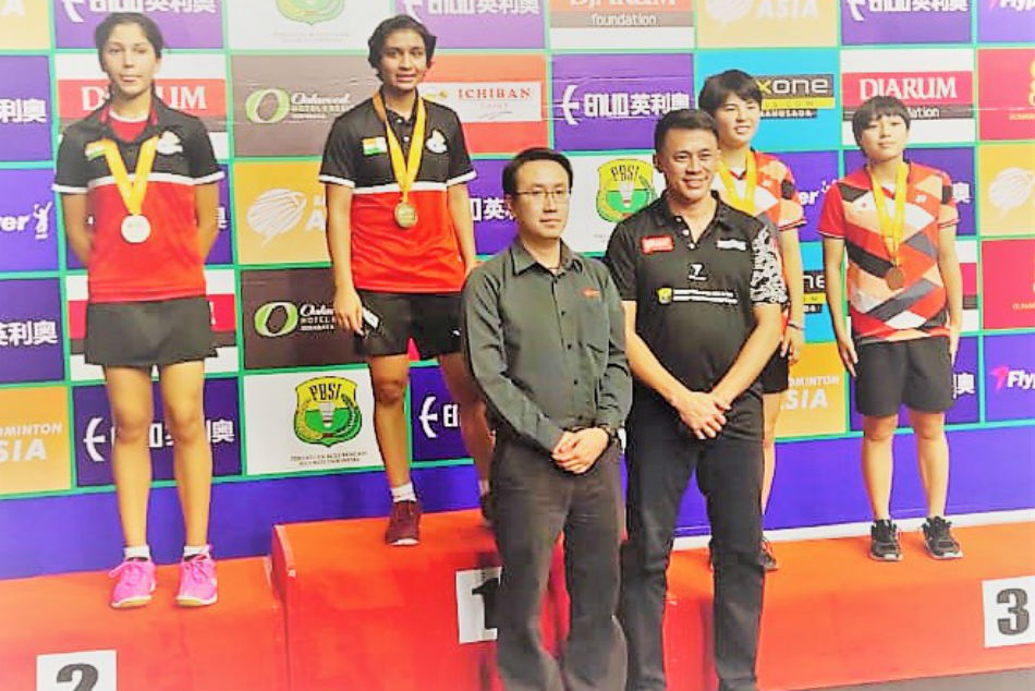 Tasnim clinches gold, silver for Tara at U-17 & U-15 Asia Junior Badminton Championships