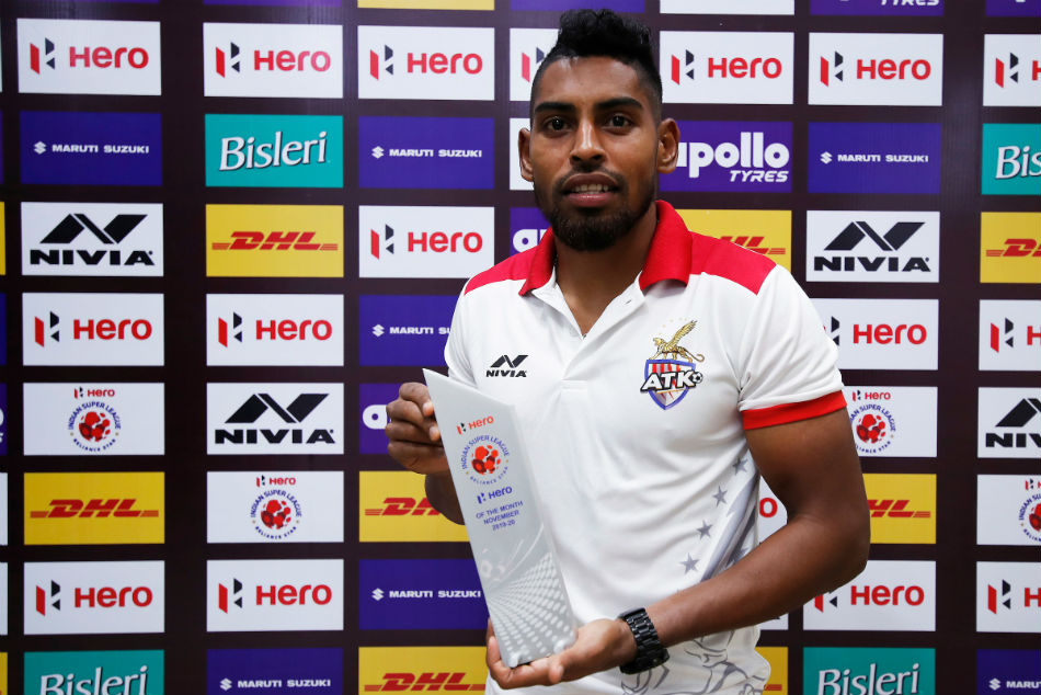 ISL 2019-20: ATK star Roy Krishna awarded Hero of the Month for November