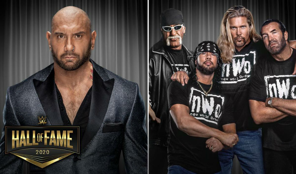 Bastista and nWo inducted into Hall of Fame (Image Courtesy: WWE.com)
