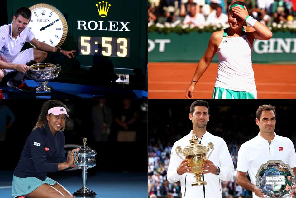 It was a decade dominated by the Big Three - Roger Federer, Rafael Nadal and Novak Djokovic - and they delivered on the grandest stages.