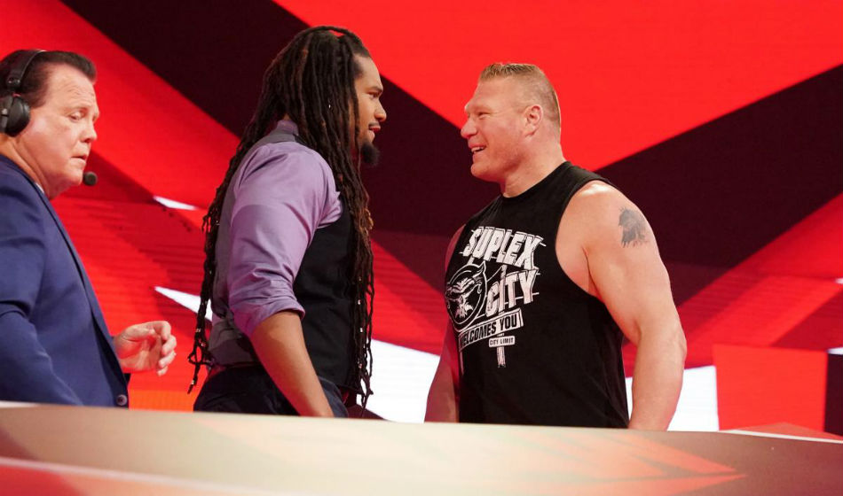 WWE Raw announcer leaves role with an intent to retire Brock Lesnar