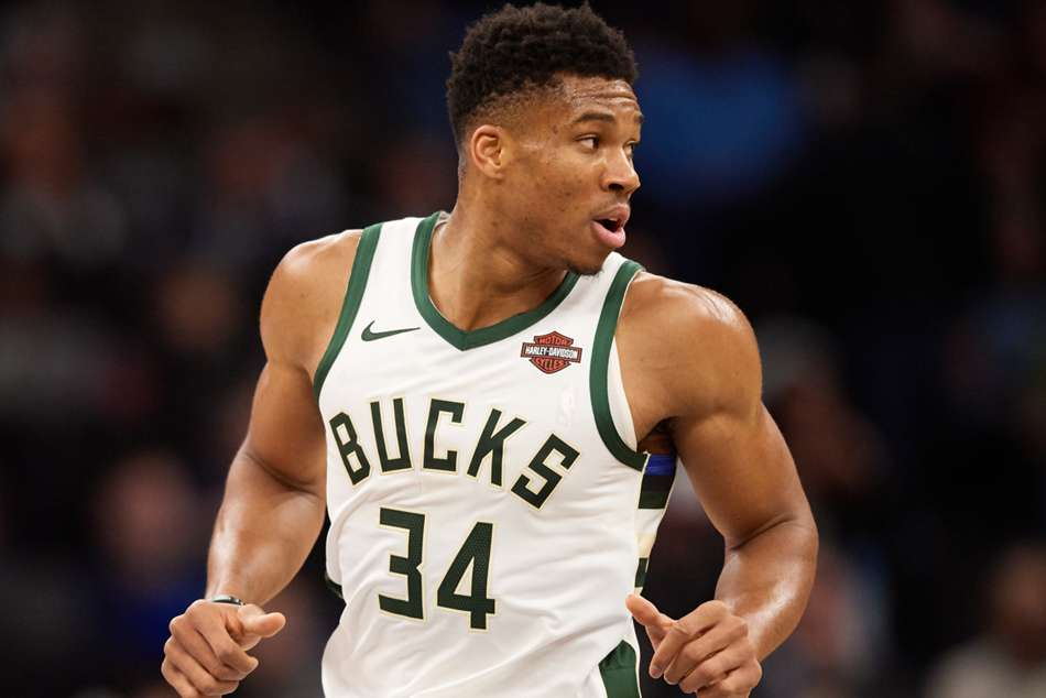 Giannis Antetokounmpo starred for the Bucks with a double-double of 29 points and 15 rebounds