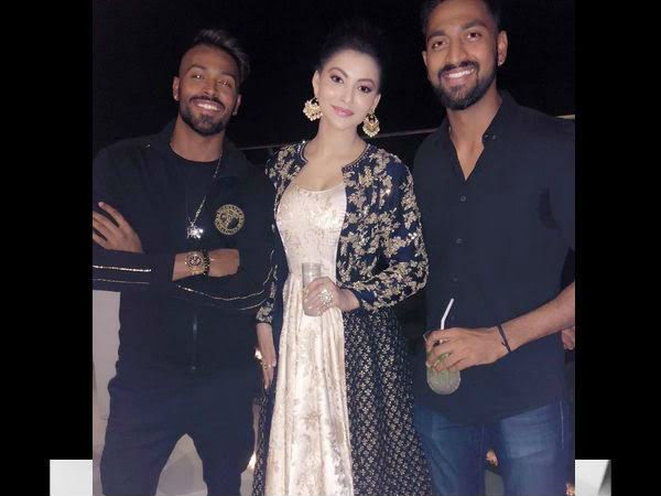 Rishabh Pant Goes Out For A Late Night Dinner With Bollywood Actress Urvashi Rautela Who Was Linked With Hardik Pandya Mykhel