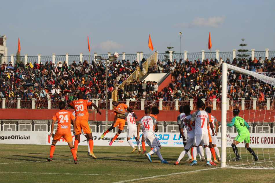 I-League 2019-20: NFC 1-0 AFC: Neroca prevail in the first Northeastern Derby of the season
