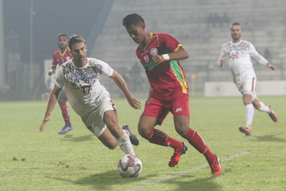 Hero I-League: Mohun Bagan trounce TRAU to clinch season's first win