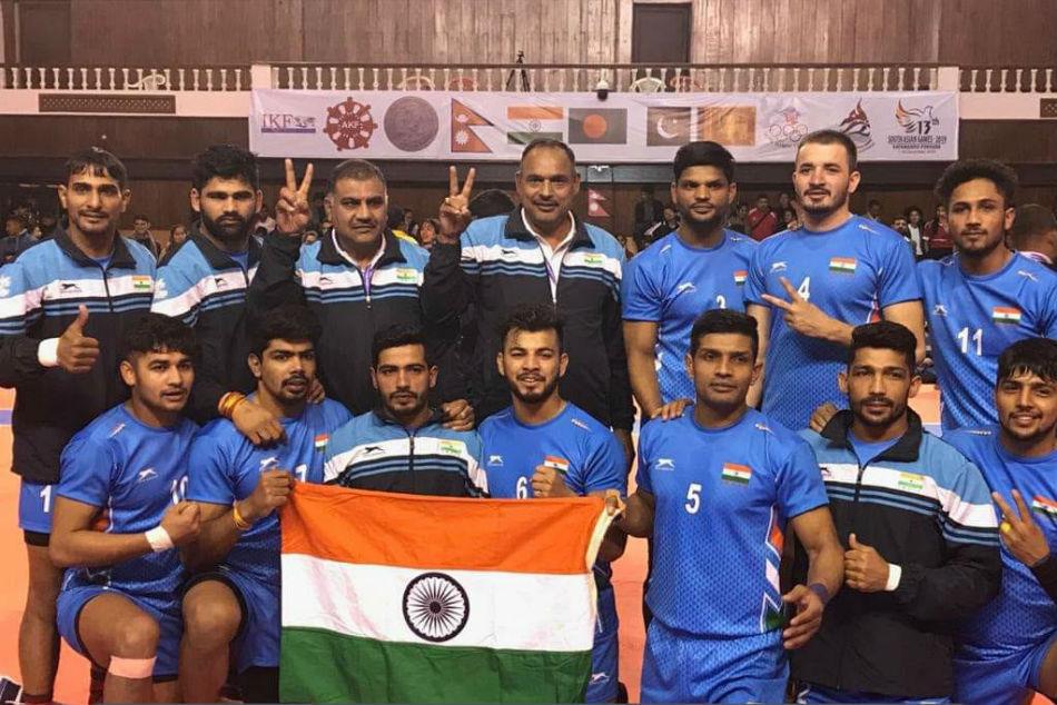 13th South Asian Games: Naveen Kumar shines as Indian Kabaddi Team crush Sri Lanka to win gold medal